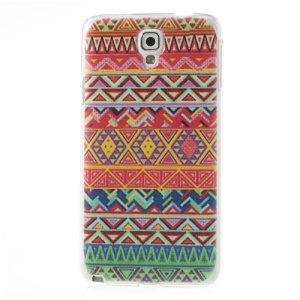 Embossed Trendy Tribe Pattern Hard Cover for Samsung Galaxy Note 3 Neo N750 N7502 N7505