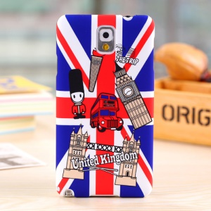 Umku UK Double-Decker Bus & Big Ben Hard Cover for Samsung Galaxy Note 3 N9005