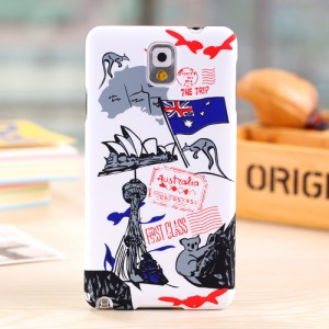 Umku for Samsung Galaxy Note 3 N9005 Australia Sydney Opera House & Kangaroo PC Shell