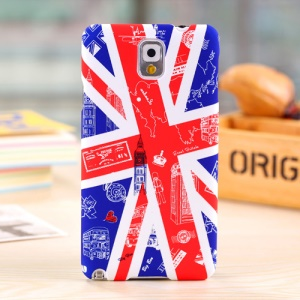 Umku Union Jack & UK Scenes for Samsung Galaxy Note 3 N9005 Hard Case