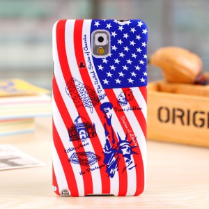 Umku The Statue of Liberty & White House Plastic Case for Samsung Galaxy Note 3 N9002