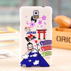 Umku Japan Sushi Sakura & Kimono Hard Cover for Samsung Galaxy Note 3 N9002
