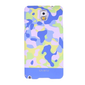 Light Blue Umku Camouflage Series Hard Cover for Samsung Galaxy Note 3 N9000