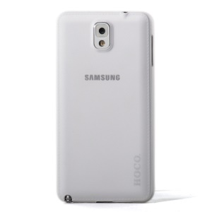 White HOCO Thin Series Translucent Hard Cover for Samsung Galaxy Note 3 N9002