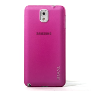 Rose HOCO Thin Series Translucent Hard Case for Samsung Galaxy Note 3 N9005