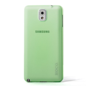 Green HOCO Thin Series Translucent Hard Shell for Samsung Galaxy Note 3 N9000