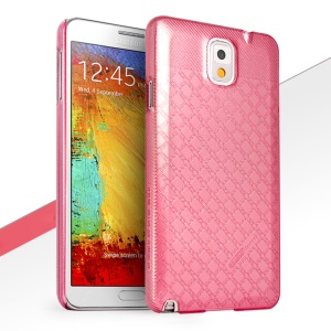 HelloDeere Jewel Series Deluxe Tough Hard Case Shell for Samsung Galaxy Note 3 N9002 - Rose