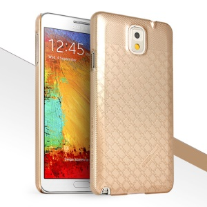 HelloDeere Jewel Series Deluxe Tough Plastic Case for Samsung Galaxy Note 3 N9000 - Gold