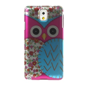 3D Effect Rose Owl & Plum Blossom Hard Shell for Samsung Galaxy Note 3 N9005 N9002