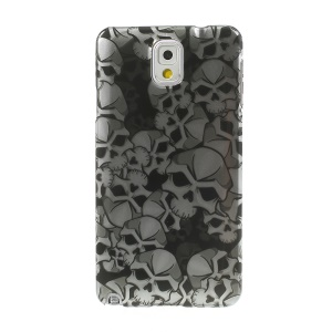 3D Effect Skull Heads for Samsung Galaxy Note 3 N9000 Smooth Hard Protective Case