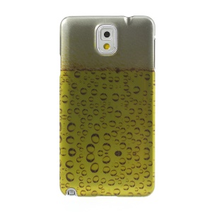 For Samsung Galaxy Note 3 N9005 Stereoscopic Effect Beer Foam Hard Protective Cover