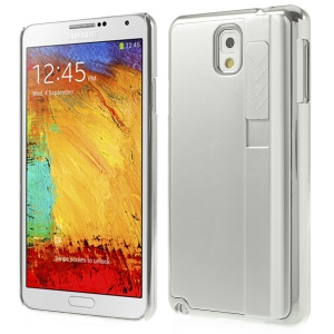 Silver Plating Plastic Hard Back Shell w/ Lighter for Samsung Galaxy Note 3 N9005 N9002 N9000