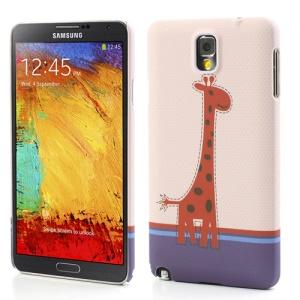 Giraffe Rubberized Hard Plastic Cover for Samsung Galaxy Note 3 N9005 N9002 N9000