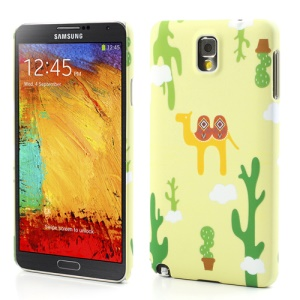 Yellow Camel Matte Hard Protective Cover for Samsung Galaxy Note 3 N9005 N9002 N9000