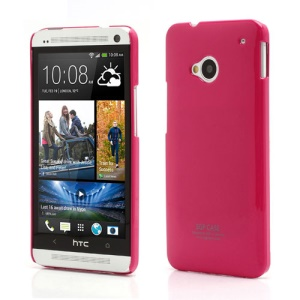 Ultra Thin Glossy SGP Plastic Case Cover for HTC One M7 801e - Rose