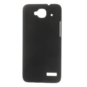 Black Rubberized Hard Case for Alcatel One Touch Idol Mini OT-6012X OT-6012A OT-6012D OT-6012E OT-6012W