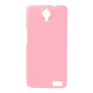 Pink Rubberized Hard Case for Alcatel One Touch Idol X OT-6040D / TCL Idol X S950