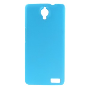 Baby Blue Rubberized Hard Cover for Alcatel One Touch Idol X OT-6040D / TCL Idol X S950
