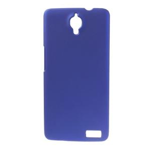 Dark Blue Rubberized Plastic Case for Alcatel One Touch Idol X OT-6040D / TCL Idol X S950
