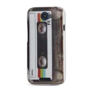 Vintage Cassette Hard Plastic Case Shell for HTC One S Z520e
