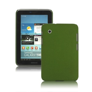 Matte Quicksand Hard Case for Samsung Galaxy Tab 2 7.0 P3100 P3110 - Green