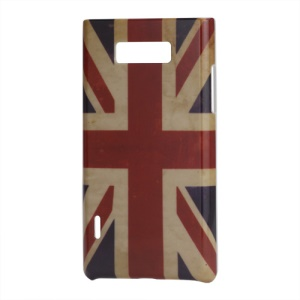 Retro UK Flag Design Hard Case Shell for LG Optimus L7 P700 P705
