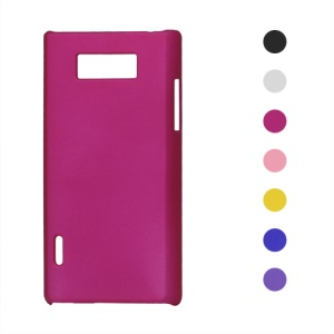 Rubberized Frosted Hard Case for LG Optimus L7 P700 P705