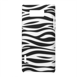 Zebra Stripe Hard Case Cover for LG Optimus L7 P700 P705