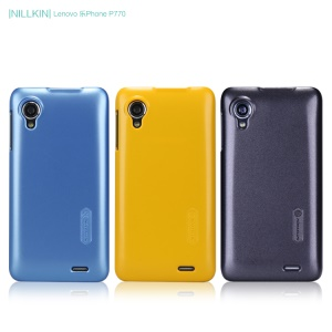Nillkin Multi-color Shield Hard Case Cover w/ Screen Protector for Lenovo Lephone P770