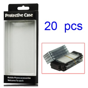 20PCS/Lot Protective Package/Packing Box for iPhone 5 4 4S Cell Phone Cases