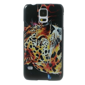 Vivid Tiger Pattern Hard PC Shell for Samsung Galaxy GS 5 S5 G900