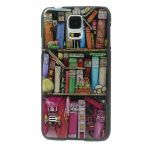 Bookrack Image for Samsung Galaxy S5 G900 GS 5 Hard Skin Case