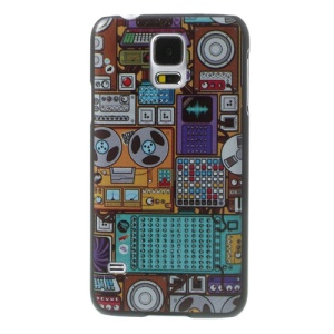 Machine Room Pattern Hard Cover for Samsung Galaxy S5 G900 GS 5