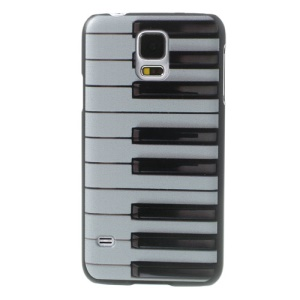 Piano Keys Design Hard PC Case for Samsung Galaxy S5 G900 GS 5