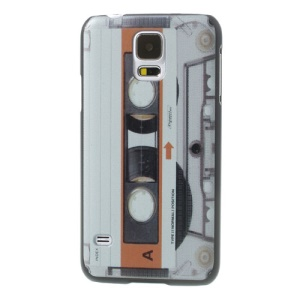 Retro Tape Hard Case Cover for Samsung Galaxy GS 5 S5 G900