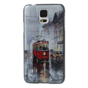London Red Bus for Samsung Galaxy S5 G900 GS 5 Hard Cover Shell