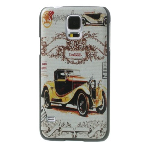 Vintage Car Image Hard Case Accessory for Samsung Galaxy S5 G900