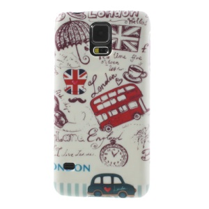 London Elements Plastic Hard Case for Samsung Galaxy S5 G900 GS 5
