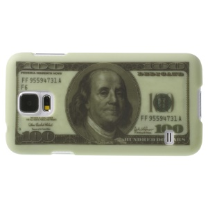 100 US Dollars Pattern Hard Back Shell for Samsung Galaxy SV GS 5 G900