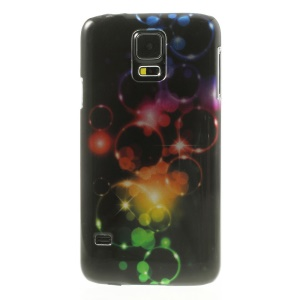 Stereoscopic Effect Bubbles Smooth Hard Back Shell for Samsung Galaxy SV GS 5 G900