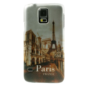 Stereoscopic Effect France Paris Eiffel Tower Hard Case for Samsung Galaxy SV GS 5 G900