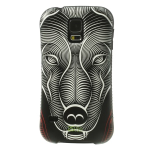 iFace Shellstyle Artistic Leopard TPU + PC Hard Back Case for Samsung Galaxy S5 G900