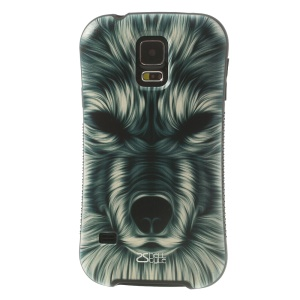 iFace Shellstyle Vivid Hairy Dog TPU + PC Protective Case for Samsung Galaxy S5 G900