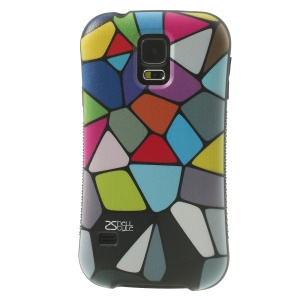 iFace Shellstyle Colored Pebble Image TPU + PC Shield Case for Samsung Galaxy S5 G900