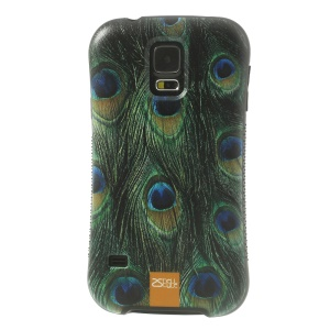 iFace Shellstyle Peacock Feather TPU + PC Back Case for Samsung Galaxy S5 G900