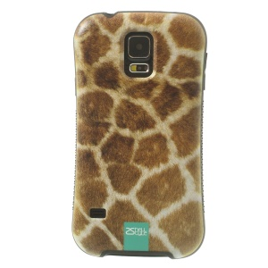 iFace Shellstyle Leopard Design TPU + PC Protector Case for Samsung Galaxy S5 G900
