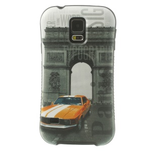 iFace Shellstyle Triumphal Arch & Car for Samsung Galaxy S5 G900 TPU + PC Back Shield Case