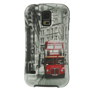 iFace Shellstyle London Red Bus for Samsung Galaxy S5 G900 TPU + PC Protector Back Case
