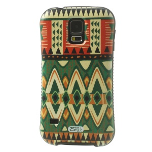 iFace Shellstyle Colored Rhombus Tribe TPU + PC Back Case for Samsung Galaxy S5 G900