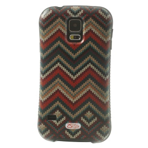 iFace Shellstyle Wave Sweater TPU + PC Back Cover Case for Samsung Galaxy S5 G900